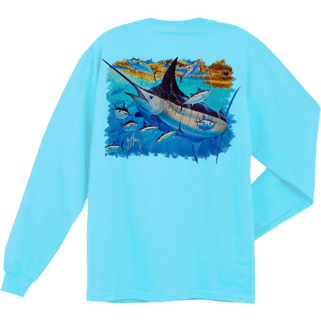 Guy Harvey Guy Harvey Mosaic L/S Shirt