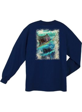 Guy Harvey Guy Harvey Paradise L/S Shirt