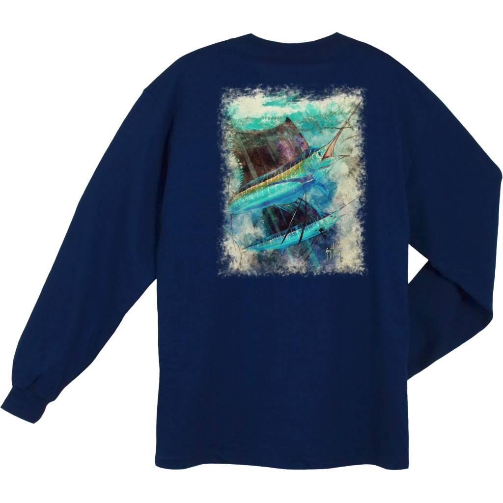 Guy Harvey Guy Harvey Paradise L/S Shirt