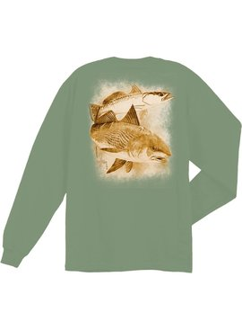 Guy Harvey Guy Harvey Leadfish L/S Shirt