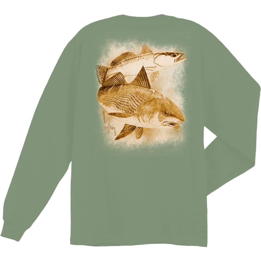 Guy Harvey Leadfish L/S Shirt