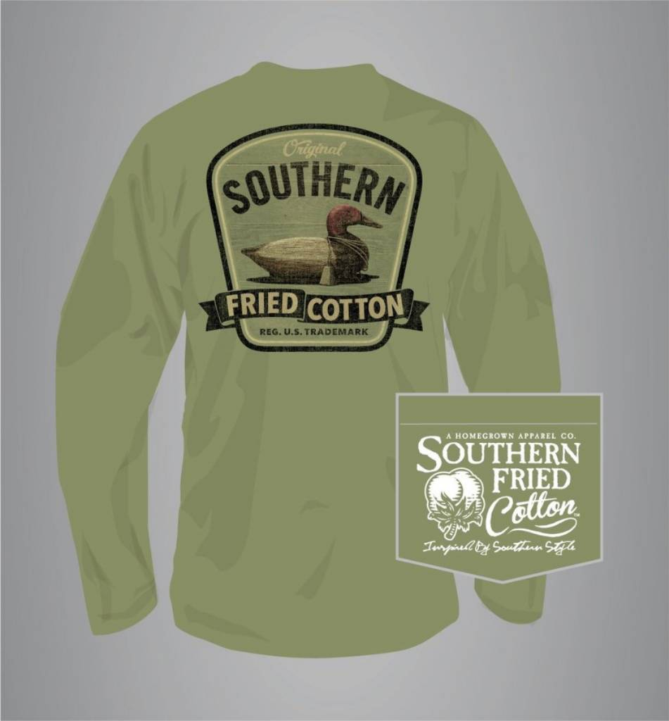 Southern Fried Cotton Duck On Call - Long Sleeve