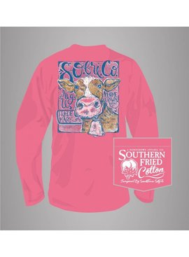Southern Fried Cotton When The Cows Come Home - Long Sleeve