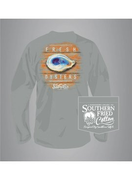 Southern Fried Cotton Fresh Oysters - Long Sleeve