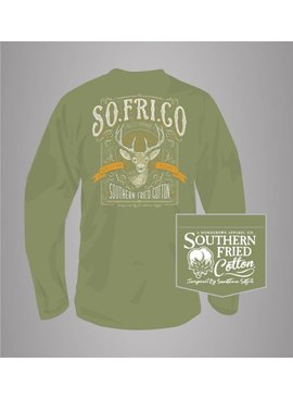 Southern Fried Cotton 8 Point Buck - Long Sleeve