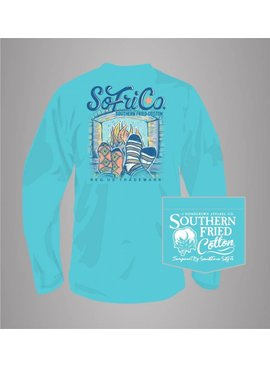 Southern Fried Cotton Fall In Love - Long Sleeve