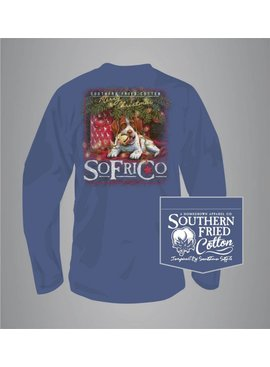 Southern Fried Cotton Waiting For Santa - Long Sleeve