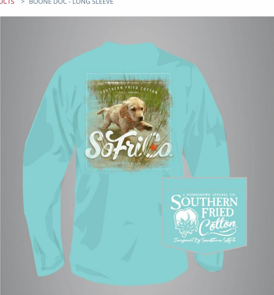 Southern Fried Cotton Boone Doc - Long Sleeve
