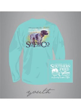 Southern Fried Cotton Bella - Youth - Long Sleeve