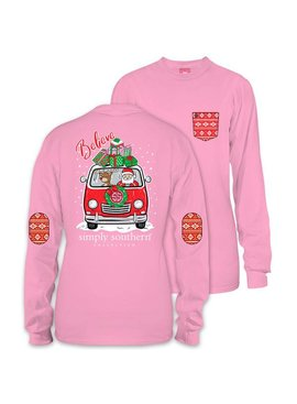Simply Southern Collection Youth - Believe Santa Long Sleeve T-Shirt