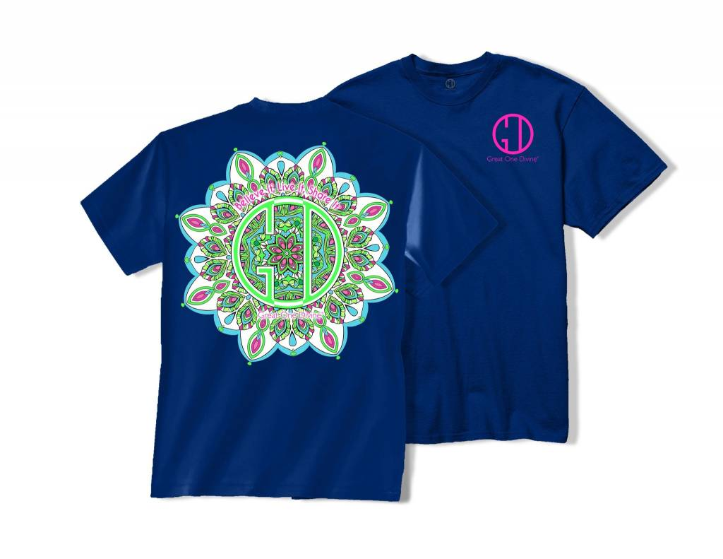 Great One Divine Great One Divine Kaleidoscope Tee