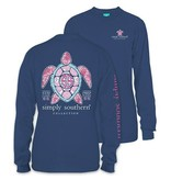 Simply Southern Collection Princess Turtle Long Sleeve T-Shirt