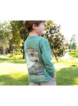 Southern Marsh Youth Vistas Mallard Tee - Long Sleeve