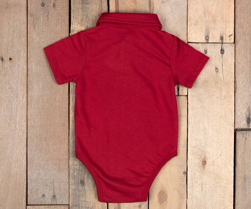Southern Marsh Baby Polo Snap Onesie