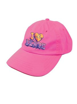 Peace Frogs, Inc I Heart Peace Frogs Baseball Hat