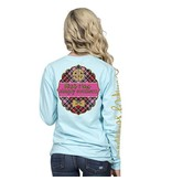 Simply Southern Collection Youth - Mandala Long Sleeve T-Shirt - Taffy
