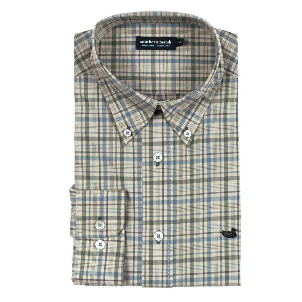 Southern Marsh Calhoun Check Dress Shirt