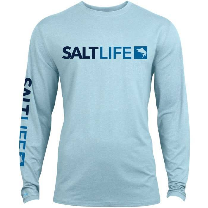 Salt Life Modern Marlin Performance Long Sleeve Tee