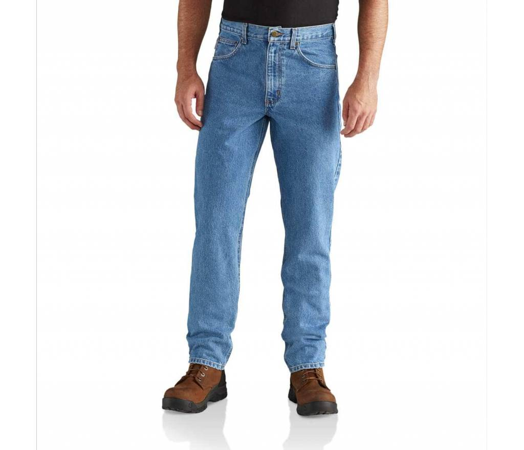 Carhartt Straight/Traditional-Fit Tapered-Leg Jean
