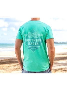 Southern Marsh Branding Collection Tee - Nautical Knot