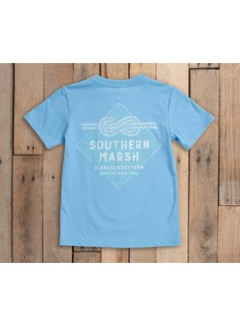 Southern Marsh Youth Branding Collection Tee - Nautical Knot