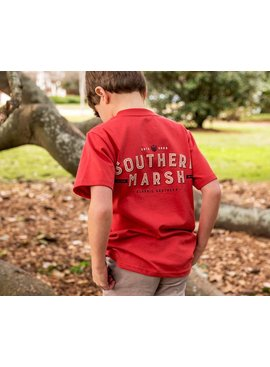 Southern Marsh Youth Branding Collection Tee - Federalist