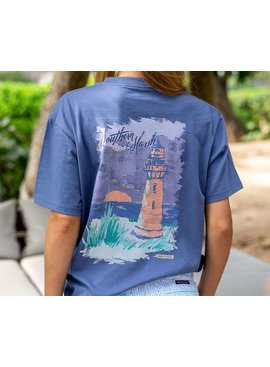 Southern Marsh Southern Horizons Tee - Lighthouse