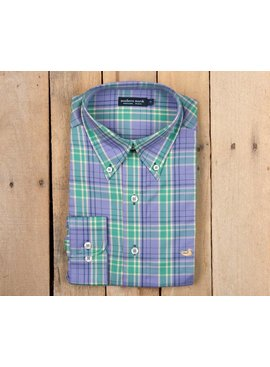Southern Marsh Lexington Windowpane Dress Shirt