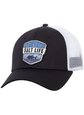 Salt Life Water Skins Badge Hat
