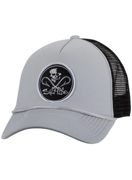 Salt Life Skull and Hooks Trucker Hat
