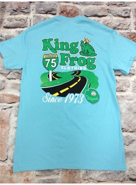 Girly Girl Originals King Frog and Lilypad T-shirt