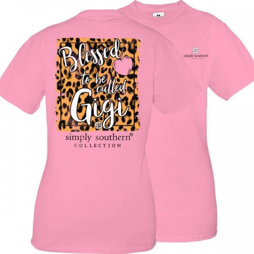 Simply Southern Collection Blessed To Be Called Gigi - Flamingo