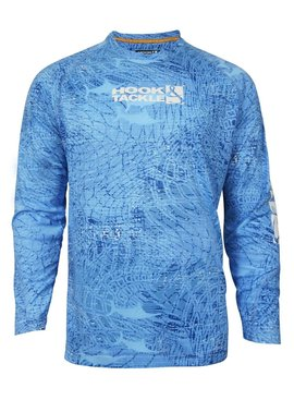 Hook & Tackle Men's Grenadines L/S UV Fishing Shirt
