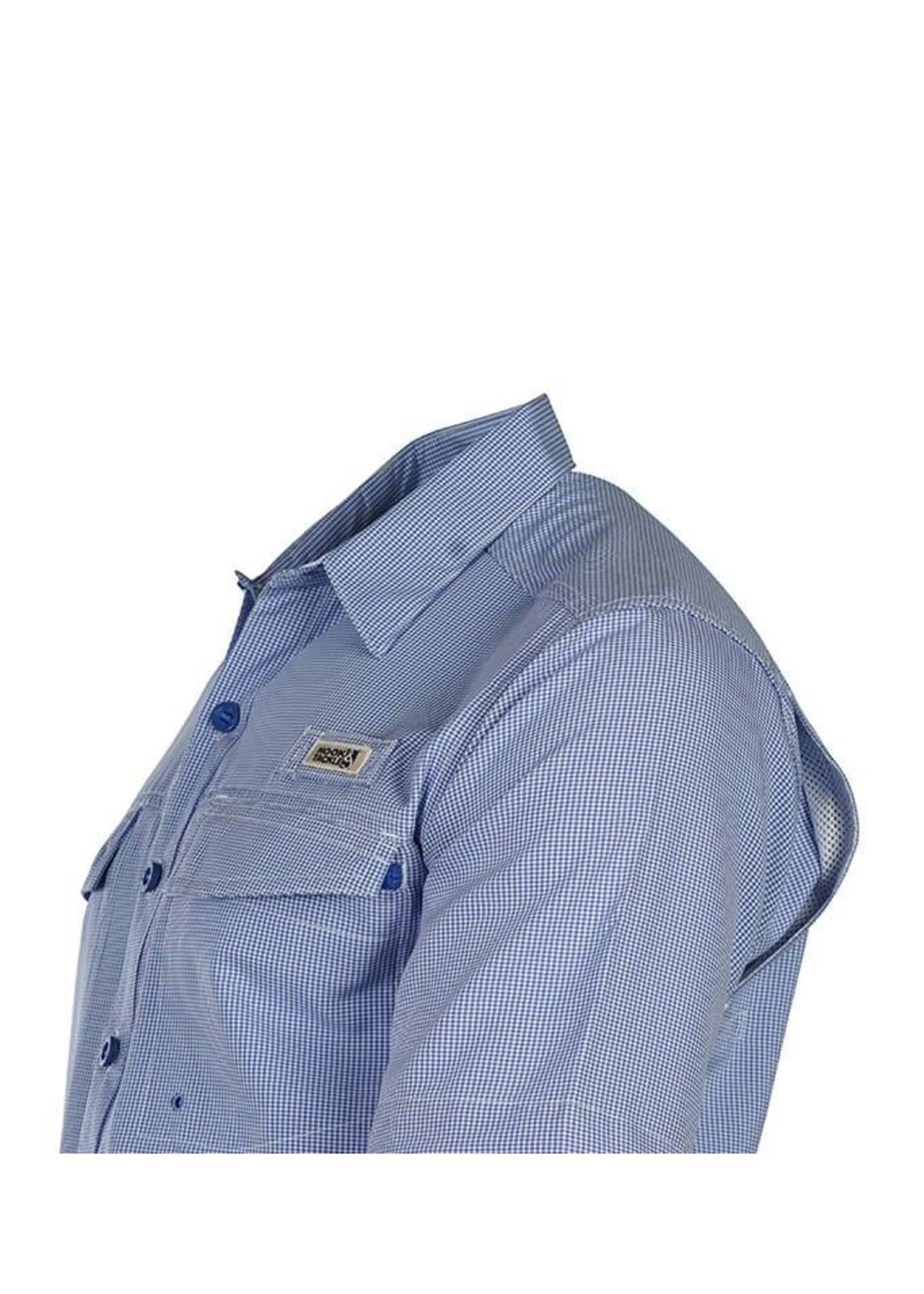 Hook & Tackle Men's Check Mate S/S UV Vented Fishing Shirt