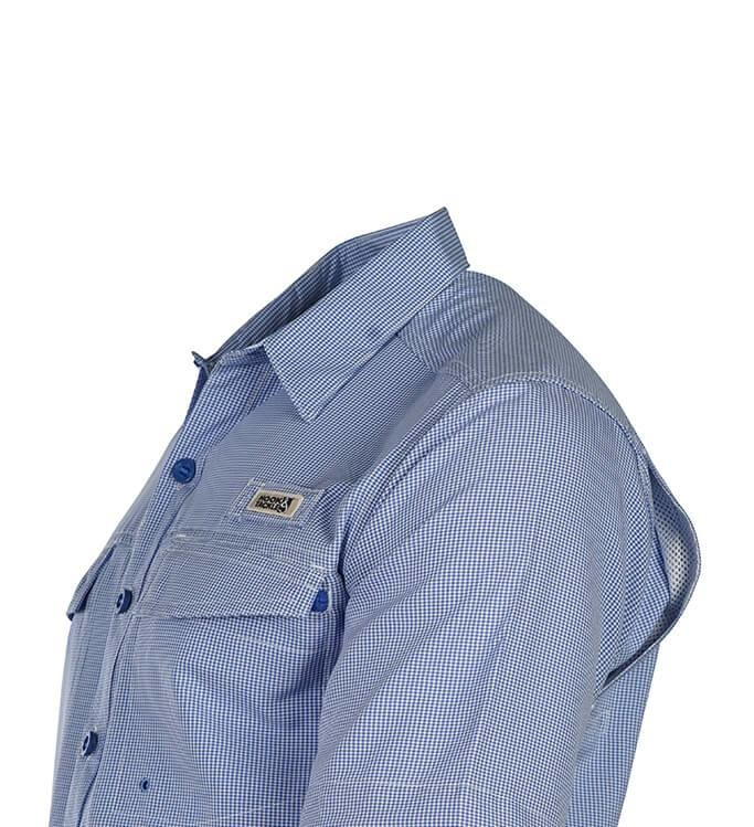 Hook & Tackle Men's Check Mate S/S UV Vented Fishing Shirt