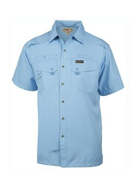 Hook & Tackle Men's Seacliff 2.0 S/S UV Vented Fishing Shirt