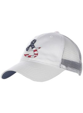 Hook & Tackle Old Glory Fishing Trucker Hat