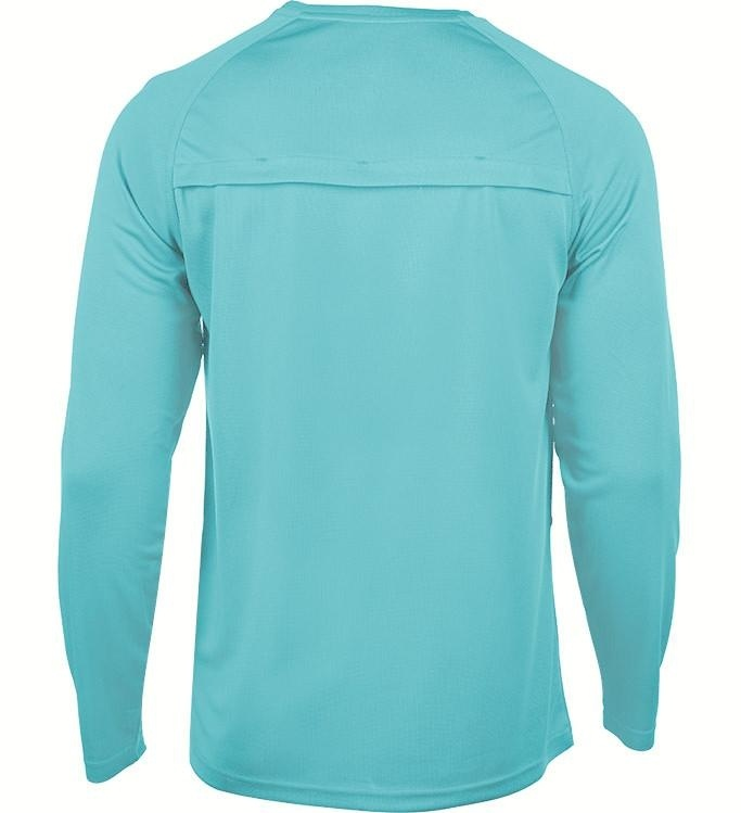 Vented UV Sun Protection Long Sleeve Performance Fishing Shirt Hook /& Tackle Men/'s Cool Winds