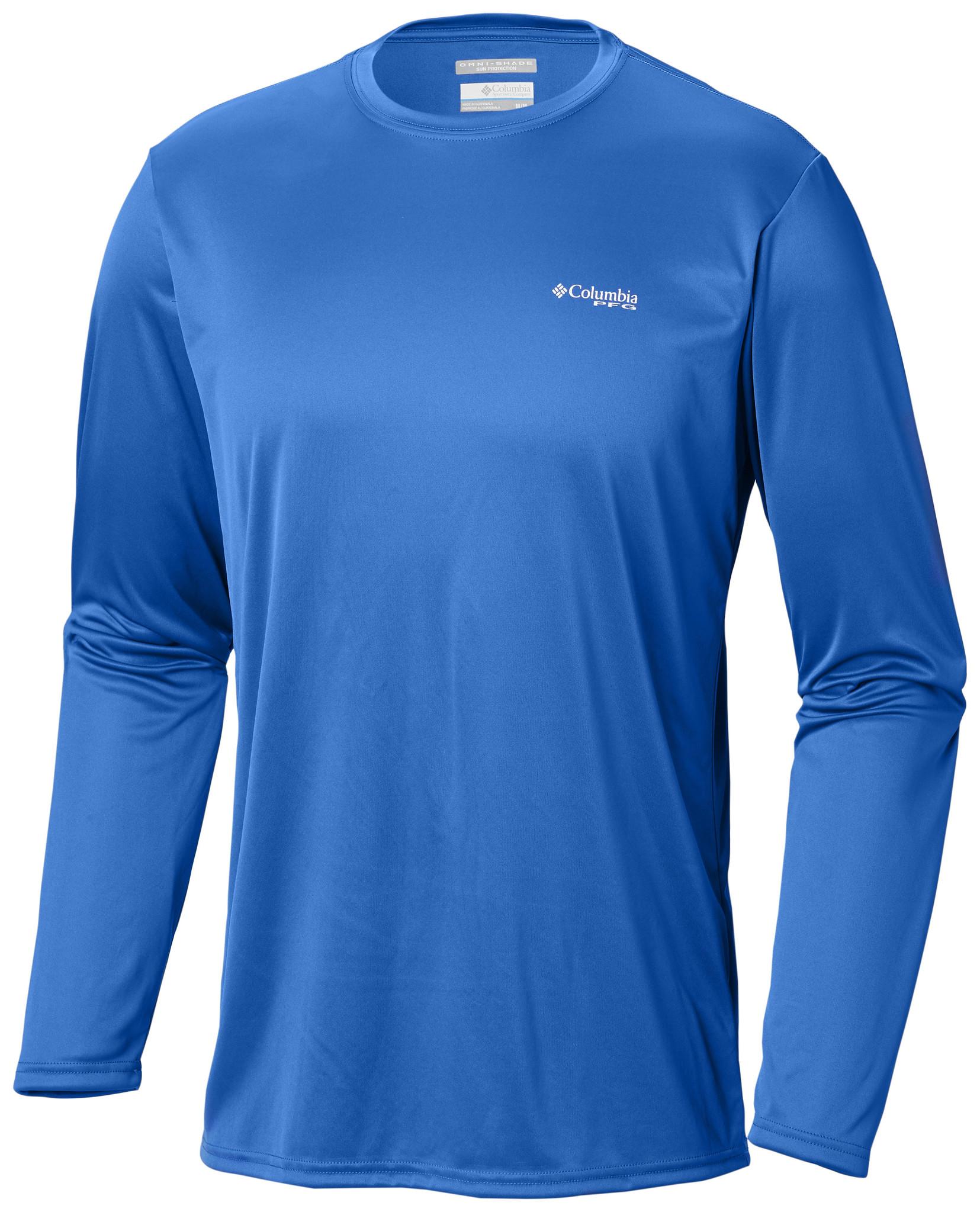 Columbia Sportswear Men's Terminal Tackle PFG Triangle Flag™ Long Sleeve Shirt