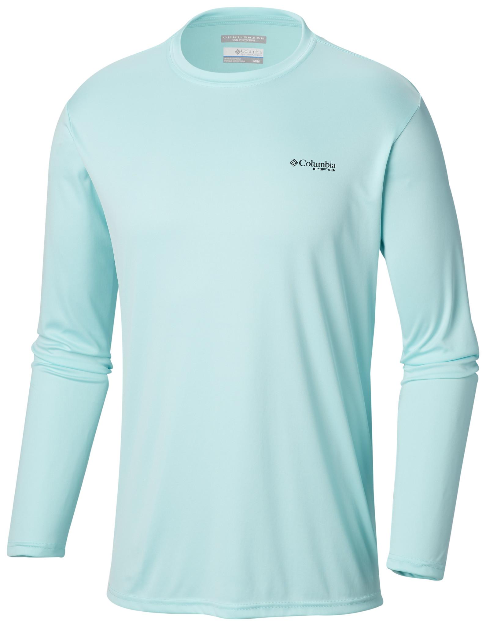Columbia Sportwear Men's Terminal Tackle PFG Triangle Flag™ Long Sleeve Shirt