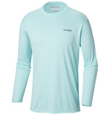Columbia Sportwear Men's Terminal Tackle PFG Triangle Flag™ Long Sleeve Shirt—Tall