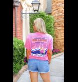 Jadelynn Brooke Orange Was The New Pink (Pink Funfetti) - Short Sleeve / Pocket