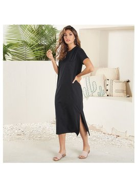 Mud Pie Grayson Midi T-Shirt Dress