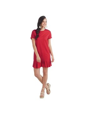 Mud Pie Hope Flounce T-Shirt Dress