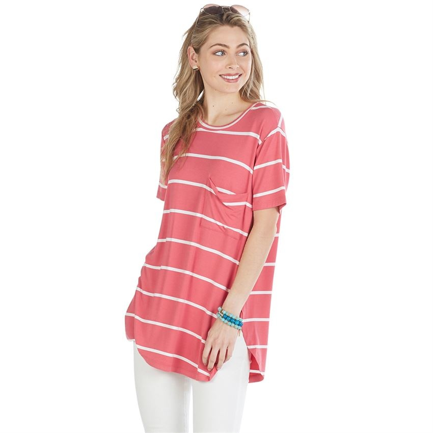 53ec86e8c09b Rae Jersey Pocket Tee - King Frog Clothing & The LilyPad Boutique