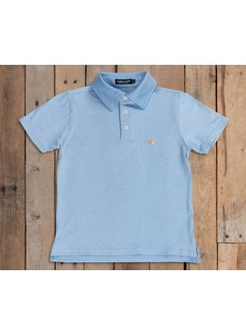Southern Marsh Youth Rutledge Heather Performance Polo