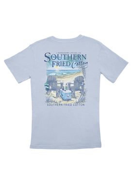 Southern Fried Cotton Somewhere On A Beach