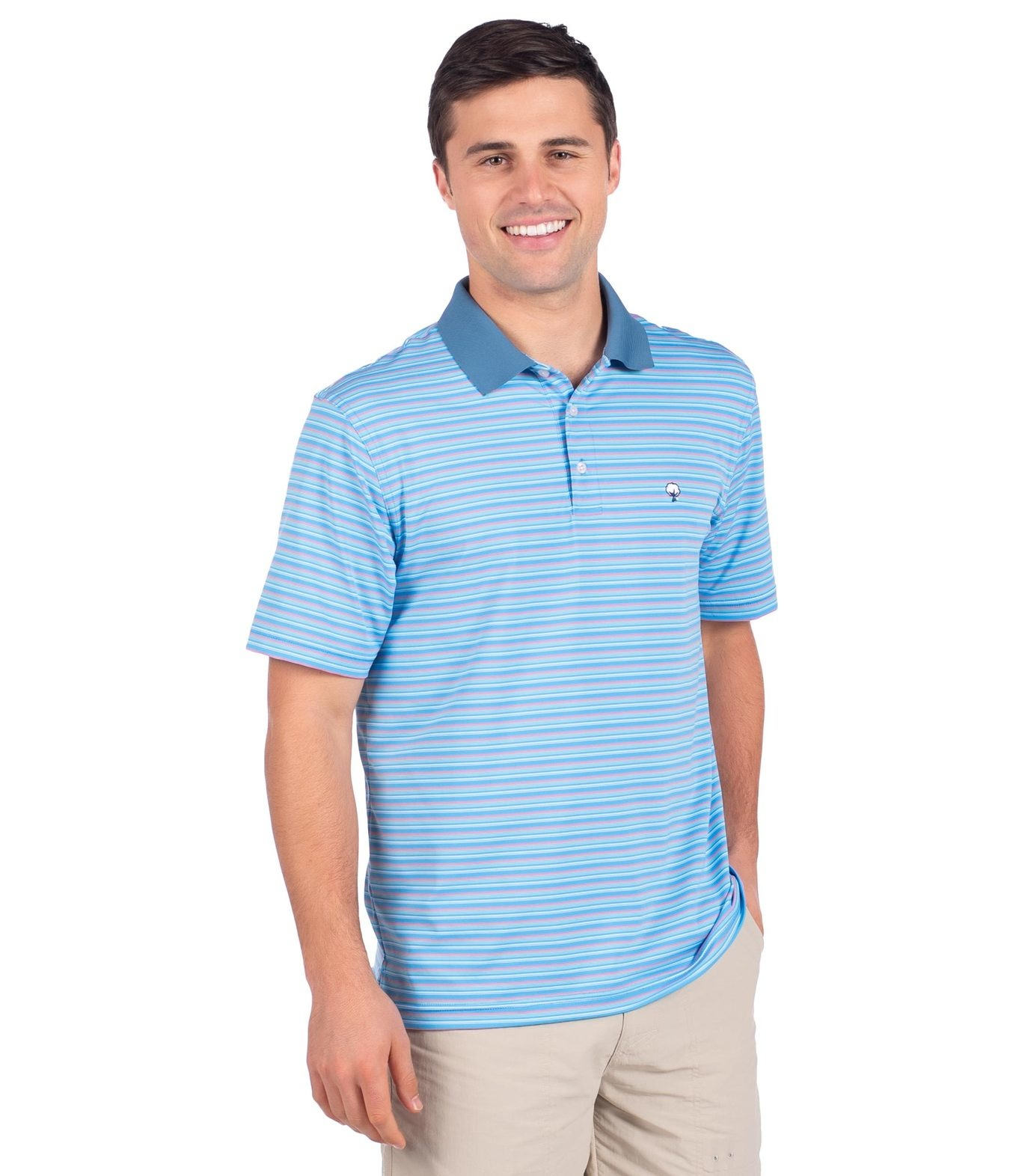 Southern Shirt Brunswick Stripe Polo