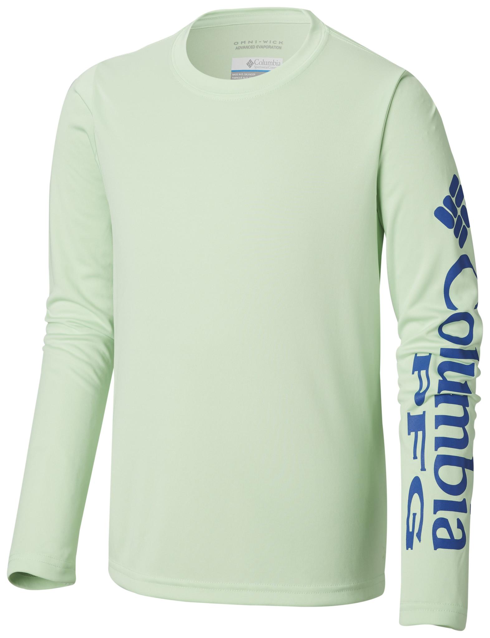 7bdd1215779 ... Columbia Sportwear Kids' PFG Terminal Tackle™ Long Sleeve Tee ...