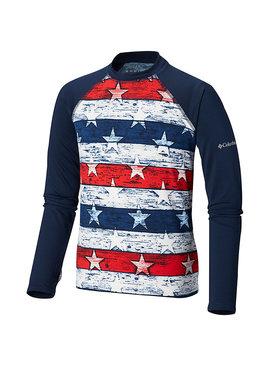 Columbia Sportwear Toddler Sandy Shores™ Printed Long Sleeve Sunguard Shirt
